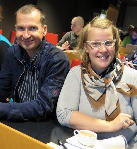 PIKESin yhteyspäällikkö Aki Nevalainen toimi seminaarissa pop up -yritysneuvojana ja Majatalo Puukarin Pysäkin Anni Korhonen kertoi oman yrittäjyystarinansa.